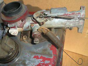 Briggs Stratton Model 81202 3HP Engine Fuel Tank and Carburetor