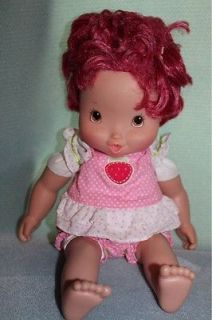 Strawberry Shortcake Baby Berry Kisses Cooing Doll Playmates 2008 2