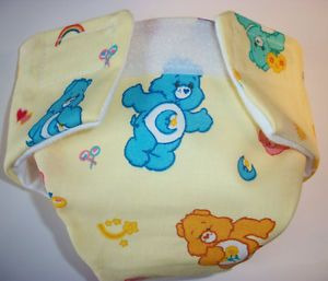 Baby Doll Cloth Diaper Clothes Care Bear Fit Cabbage Patch Doll and More
