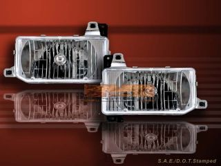 1988 1995 Nissan Hardbody 1987 1995 Pathfinder Headlights Clear
