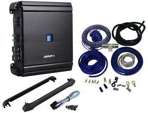 "Alpine MRV M500 500 Watt RMS Class ""D"" Mono Car Amplifier Amp Kit"