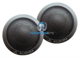 "C5075 Ct JL Audio 3 4"" EVO C5 Silk Dome Car Tweeters Inline Crossovers New 699440991063"