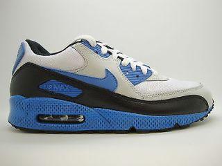 d8254844ae 325018 144 Mens Nike Air Max 90 White Varsity Blue Natural Grey