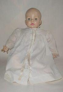 Adorable Vintage Madame Alexander Victoria Baby Doll Original Clothing Label