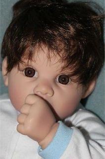Lee Middleton by Reva Brunette Baby Boy Doll 1999
