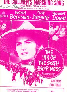 The Children's Marching Song The Inn of The Sixth Happiness Ingrid Bergman