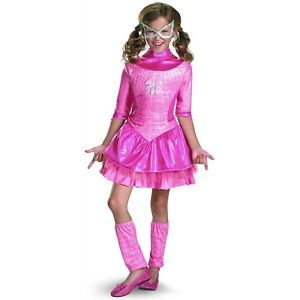 Deluxe Pink Spider Girl Kids Toddler Superhero Spider Man Spiderman Costume