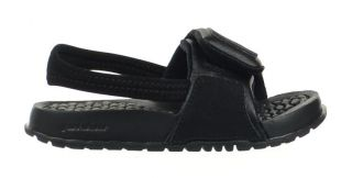 3372ebe99abff2 Jordan Hydro 2 TD Baby Toddler Sandals Slippers Slides Black Grey 487574 001