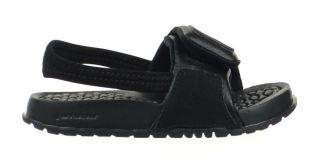 Jordan Hydro 2 TD Baby Toddler Sandals Slippers Slides Black Grey 487574 001 7e192677d