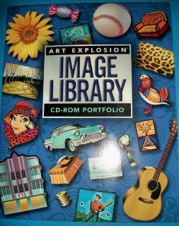Art Explosion Image Library CD ROM Portfolio Clipart 14 CDs Vector Raster