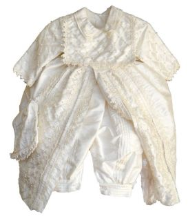 Baby Boys Christening Baptism Outfit Spanish Style Ropones Para Bautizo
