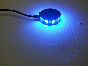 1 Blue LED Motorcycle Wheel Pod Light Custom Accent Bike Ambient Rim Glow CBR