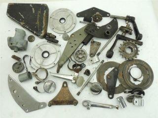 Large Lot British Motorcycle Parts Triumph Norton BSA 250 441 500 650 750 134