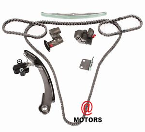 VQ35DE 3 5L Nissan Murano Altima Engine Timing Chain Kit Guides w O Sprocket New