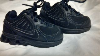 e9e395c4e45 Nike Shox Qualify Sneakers Size 6C Toddler Shoes 6 Boys or Girls Black