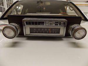 Vintage Audiovox Am FM 8 Track Tape Player Car Stereo Radio Camaro Chevelle GM