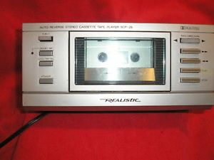Realistic SCP 25 Stereo Auto Reverse Cassette Tape Player