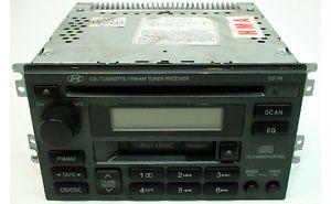 2002 2003 2004 2005 Hyundai Sonata Vehicle Factory Car Radio Tape CD Disc Player