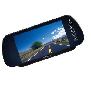 """7"""" TFT LCD Rearview Mirror Monitor Car Backup Camera"""