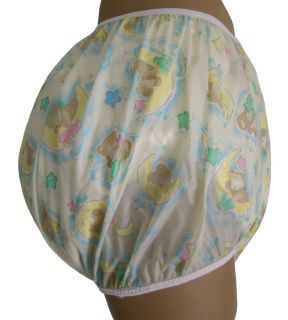 Baby Plastic Pants Adult Sizes Sleepy Bear Bedwetter
