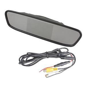 "4 3"" Screen TFT LCD Car Rear View Mirror Monitor for Car Rear View DVR Camera"