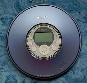 Sony ATRAC3PLUS Personal Portable Disc  CD Player Walkman Discman D NE319