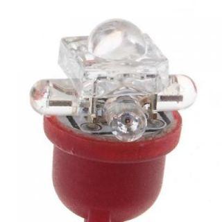 10 Red 5 LED Super Bright Wedge Base Car Lamp Turn Signal Light Bulb 168 194 192