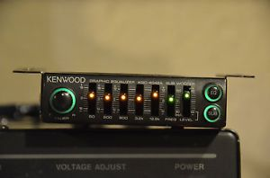 Kenwood Graphic 5 Band Equalizer KGC 4042A Car Stereo with Subwoofer Control