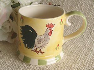 Farm Rooster Hen Chicken Tea Mug Coffee Cup