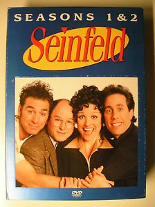Seinfeld Series NBC DVD Season 1 2 Volume 1 Dreyfus Comedy Larry David Richards 043396053410