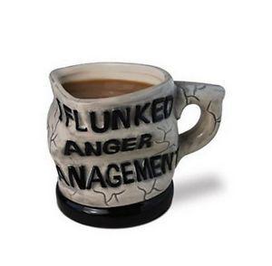 I Flunked Anger Management Ceramic Mug Coffee Cup 12 oz Hot Chocolate Tea Office
