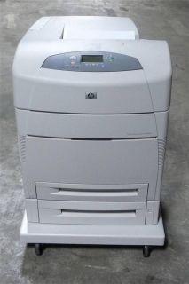 HP LaserJet 5550DTN Q3716A Laser Color Printer JetDirect 620N 65K PG Ct