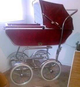 Vintage Baby Carriage Buggy Stroller by Wonda Chair Full Size Complete Set