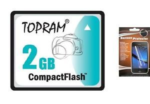 2F 2GB Compact Flash CF Memory Card 2G for Nikon Camera Coolpix 5700 2GIG 2 G GB