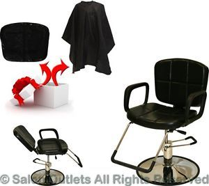 Hydraulic Reclining Barber Chair Shampoo Hair Styling Spa Salon Beauty Equipment