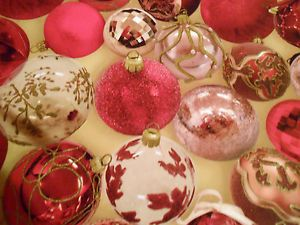 Christmas Baubles Wipe Clean Vinyl PVC Tablecloth Non Woven Backing