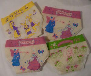 Vtg Toy Doll Baby Diapers Pampers Disney Snow White Cinderella Alice Wonderland