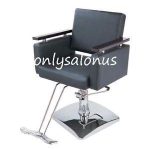 Hydraulic Styling Barber Chair Salon Equipment Damaged