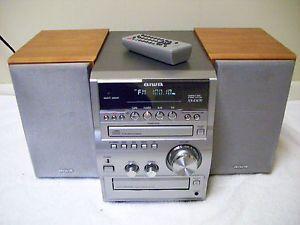 Aiwa XR Em 70 Digital Audio System 70 Watt w Remote