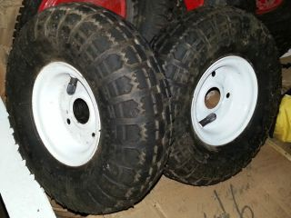 Tires Rims 4 10 x 8 50 4 for Go Carts Hand Truck Big Dollys Made in China