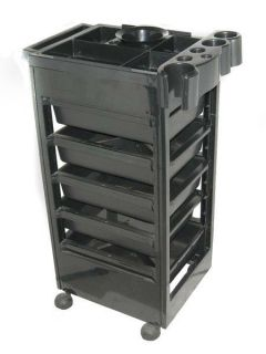 5 Drawer Barber Styling Station Trolley Trolly Cart Beauty Salon Equipment Chair