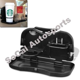 Foldable Auto Car Truck Food Meal Cup Drink Desk Tray Holder Stand Dinner Table