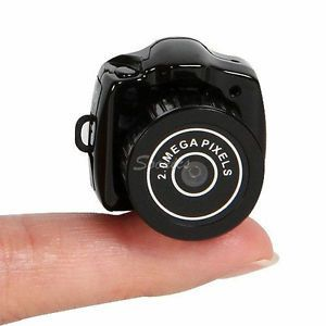Audio w Mic World's Smallest Spy Digital DV DVR Video Hidden Camera Recorder New