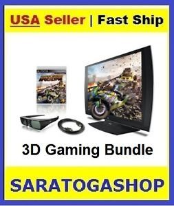 Sony PlayStation Gaming System 24 inch 3D LED Display Bundle PS398078 Brand New