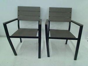 Hampton Bay Northridge Patio Dining Chair 2 Pack
