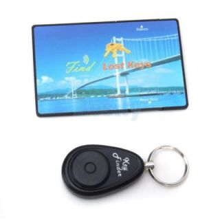 1 CH 1 Channel RF Wireless Remote Control Electronic Alarm Key Finder Locator