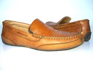 Sperry 'Navigator Venetian' Brown Leather Men's Slip on Driving Shoes US Size 8