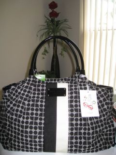 Kate Spade New York Stevie Baby Bag Classic Noel Black $445 Bid Starts 0 99