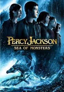 Percy Jackson Sea of Monsters DVD 2013 w Case Cover Art DVD Free Shipping