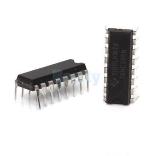 3X 5pcs 16 Pin 8 Bit Serial in Parallel Out Shift Register 74HC595N 100MHz